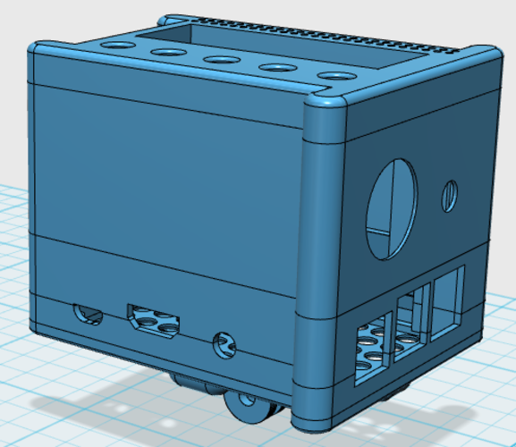 Snapped together Raspberry Pi Modular Case 3D Print 85842