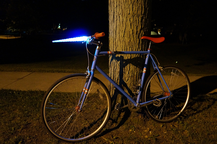 Glowing Unicorn Bike Light 3D Print 85897