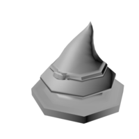 Small Witch Hat Token  3D Printing 85929