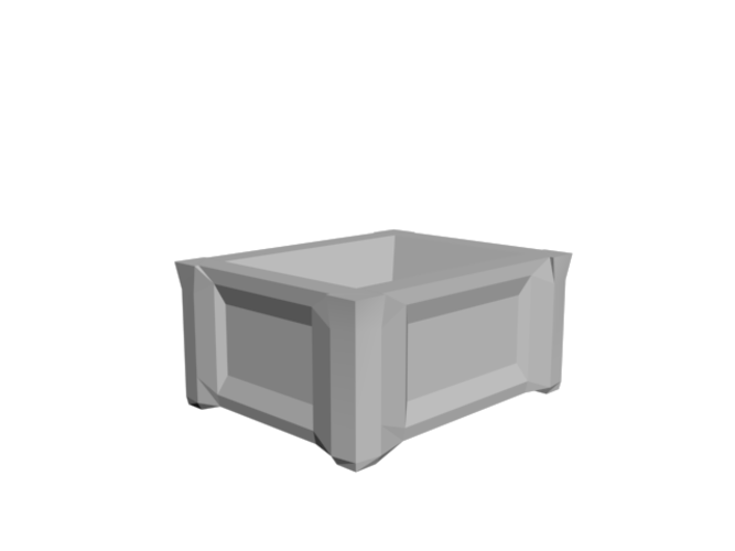 Trunk with removable lid 3D Print 85944