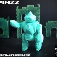 Small Spinzz (RoboMorph) 3D Printing 86157