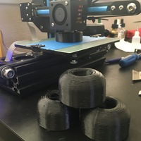 Small skateboard wheels 3D Printing 86170