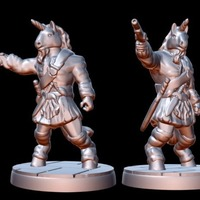 Small Horselander (15mm scale) 3D Printing 86174
