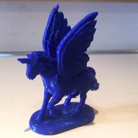 Small The Pegacorn 3D Printing 86201
