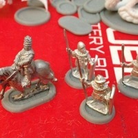 Small Recessed Infantry and Cavalry Bases (15mm scale) 3D Printing 86228
