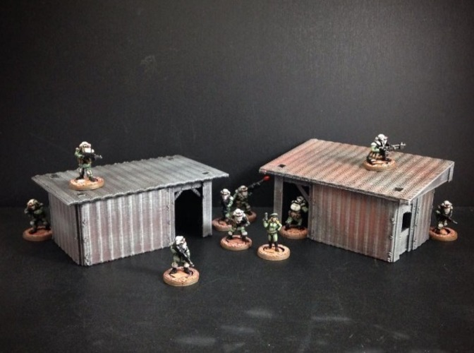 Shanty House (15mm scale)