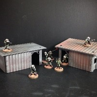 Small Shanty House (15mm scale) 3D Printing 86283