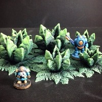 Small ... more Alien Flora (15mm scale) 3D Printing 86309