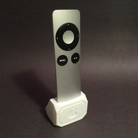 Small Apple TV Remote Holder 3D Printing 86660