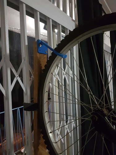 Hanging Bicycle Wall Mount 3D Print 87029