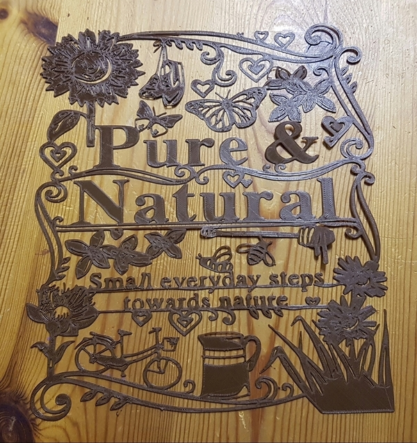 Medium Pure Natural 3D Printing 87037