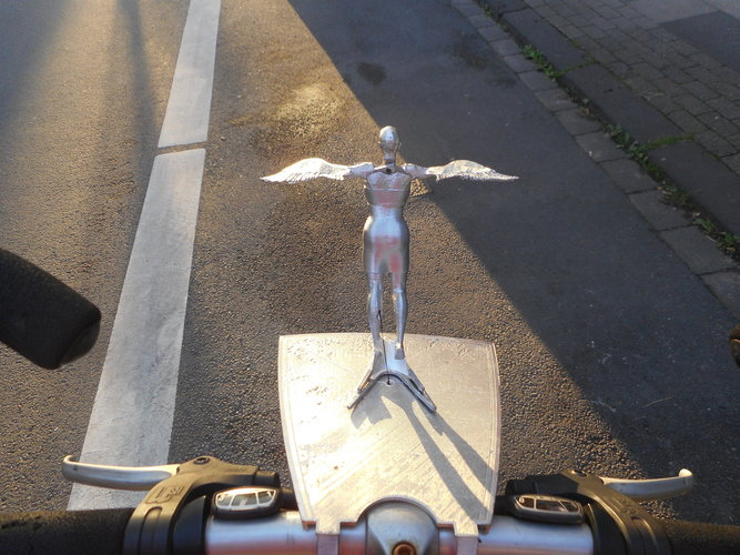 Flapping Bicycle Mascot 3D Print 87040