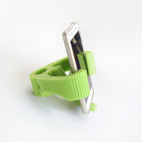 Small Smartphone Flexible Mount for Bike 3D Printing 87395