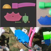Small Bike Accessories For People With Hand Disabilites 3D Printing 87405