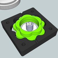Small Hypocycloid gear box 42:1 3D Printing 87506