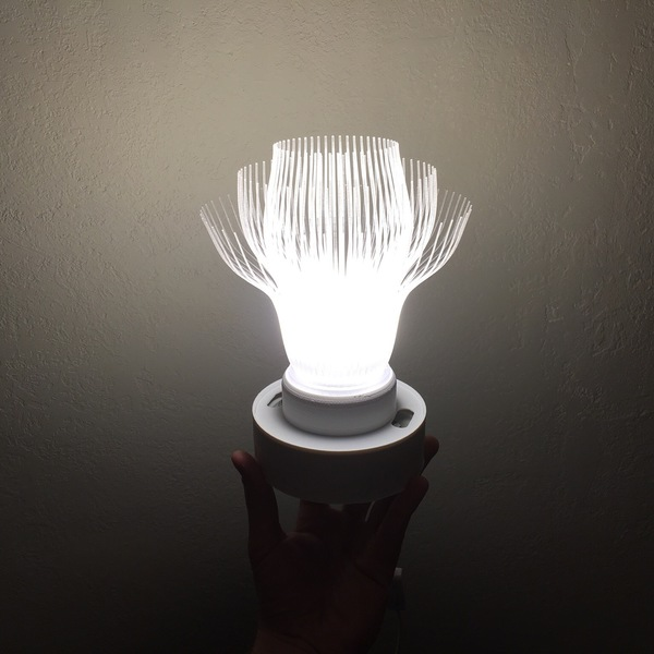 Medium Antennae Lamp 3D Printing 87629