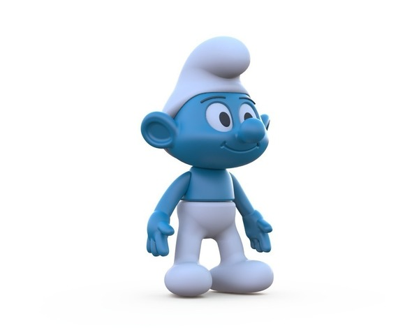 Medium The Smurf 3D Printing 87999