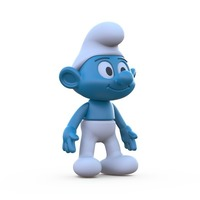 Small The Smurf 3D Printing 87999