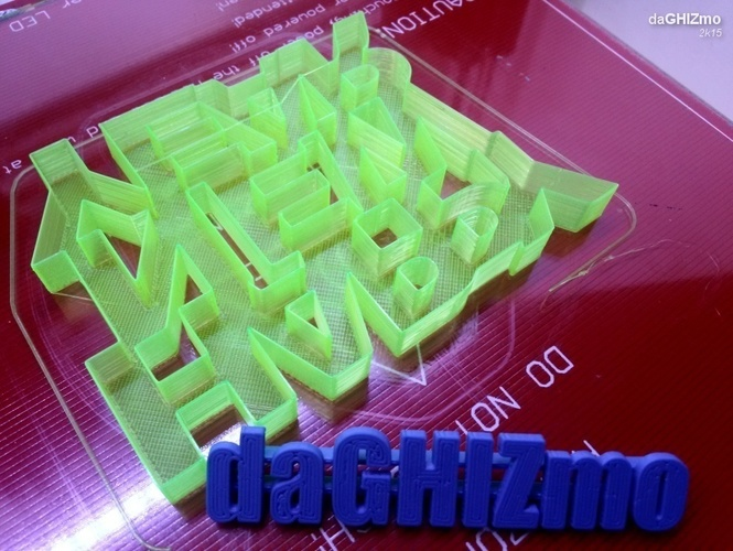 HAPPY NEW YEAR SIGN 3D Print 88107