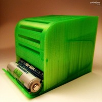 Small BATTERY DISPENSER 3D Printing 88205