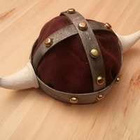 Small Viking Horned Helmet 3D Printing 88221