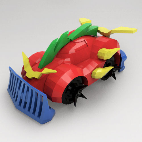3D Printed Car Toy - 3DRacers, RC Car By 3DRacers