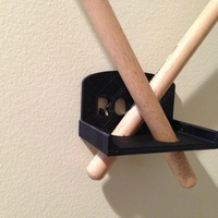 Small Drum Stick Holder 3D Printing 88405