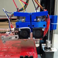 Small Direct Drive Extruder System for E3D V6 (Prusa I3) 3D Printing 88423