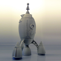 Small The Steam Rocket 3D Printing 88465