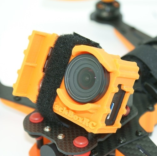 ExoPro GoPro Protective Case (Vortex 250 & Wedge Cases) 3D Print 88920
