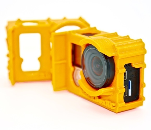ExoPro GoPro Protective Case (Vortex 250 & Wedge Cases) 3D Print 88921