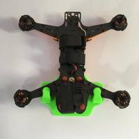Small 250 / 210 / 180 FPV Quadcopter Wall Hanger 3D Printing 88928