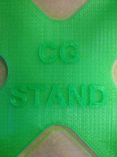RC - CG Stand (for balancing Rc Planes & Quads etc) 3D Print 89053