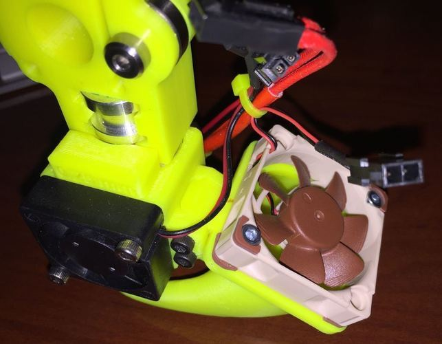 E3D v5 Dual Duct Assembly for Makergear M2 - UPDATED 3D Print 89199