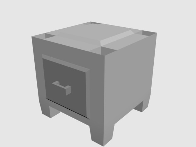 Stackable Drawers 3D Print 89270