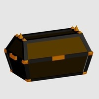 Small Chest 3D Printing 89287