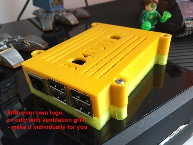 Raspberry Pi 2 Case 3D Print 89359