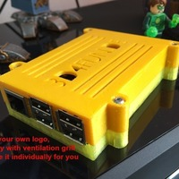 Small Raspberry Pi 2 Case 3D Printing 89359