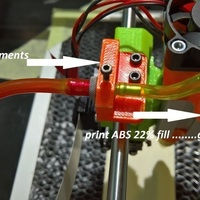 Small Air assist holder for Emblaser- Laser  3D Printing 89364