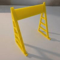 Small Tablet Teleprompter/Reading Stand 3D Printing 89365