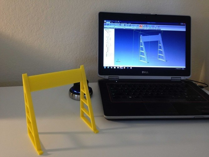 Tablet Teleprompter/Reading Stand 3D Print 89366