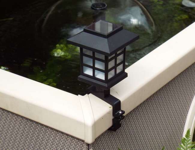Affinity Pool Solar Lamp Bracket 3D Print 89548