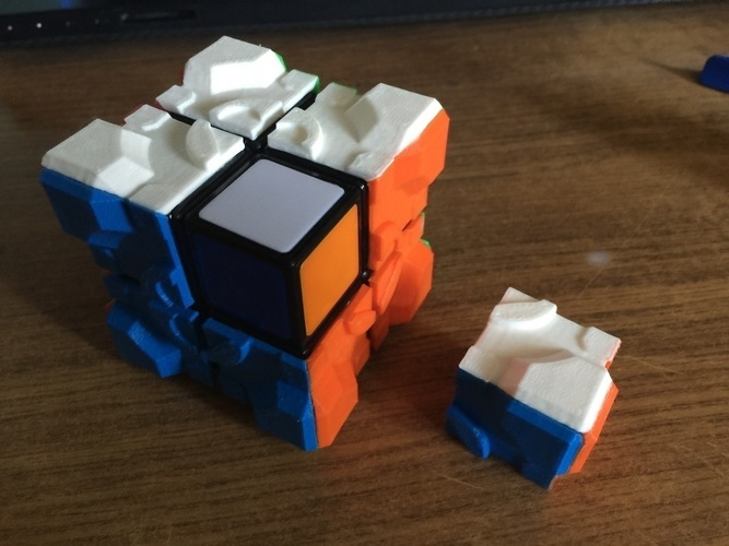 Rubiks companion cube stickers 2x2