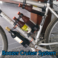 Small Boozer Cruiser Bike Transport System 3D Printing 89603