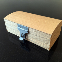 Small Rough Wood-effect Chest 3D Printing 89710