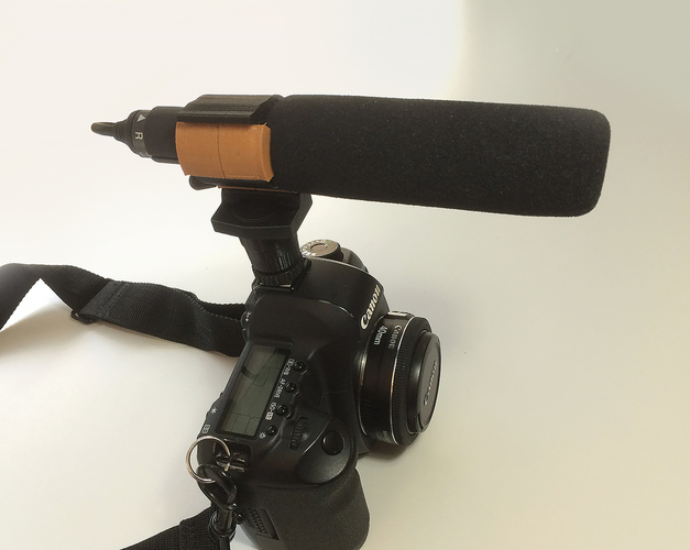 Microphone shock mount 3D Print 89749