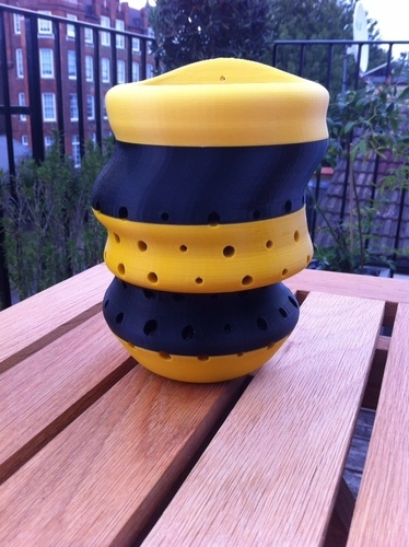 BuzzBox™ Bee house 3D Print 89805