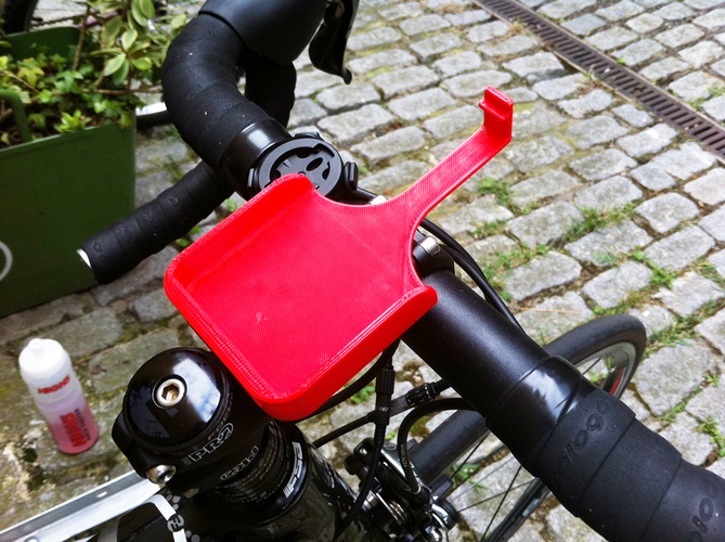 Iphone5 bike phone mount - remix 3D Print 89836