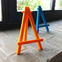 Small Mini caballete easel - prints in one piece 3D Printing 89857