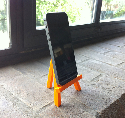 Mini caballete easel - prints in one piece 3D Print 89859